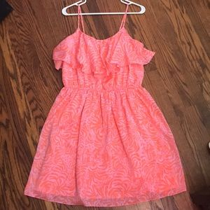 Lilly for Target Coral & Pink Sundress 